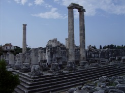Temple of Apollo at Didyma (Miletus). Photo by Alison Innes.